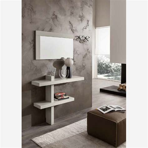 mobili ingressi moderni ingresso con specchiera e mensole pr650