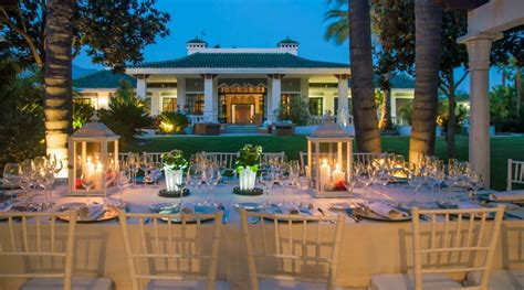 wedding decorator luxury wedding venues  marbella