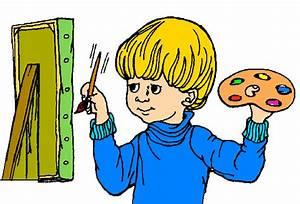 Children Painting Clip Art - Cliparts.co