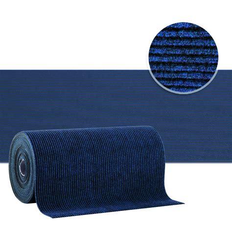 tapis couloir amortissant r 233 sistant bleu