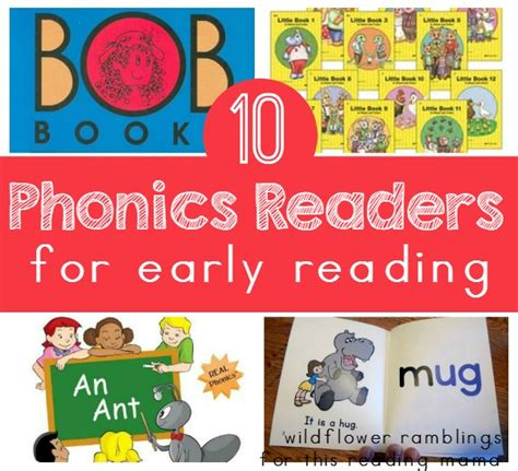 phonics readers  early reading