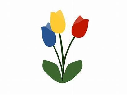 Tulip Clip Clipart Cliparts Tulips Clipartix Peeps