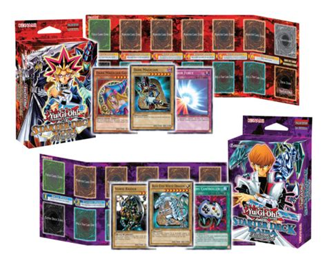 Original Yugioh Starter Deck List by Yu Gi Oh Starter Deck Yugi And Kaiba Reloaded Yugioh