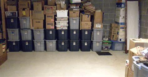 Basement Organization With Plastic Tubs   Hometalk