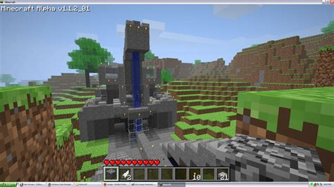 Minecraft Ride Boat Up Waterfall by Ois Place Of Ramble Minecraft 1w00000 00010