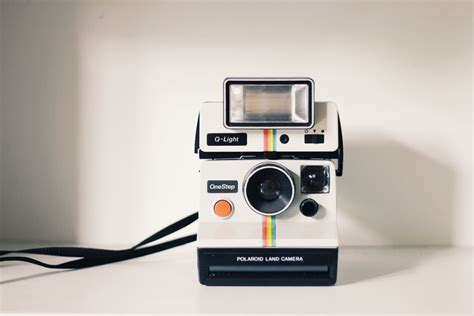 polaroid vintage photography film camera hipster