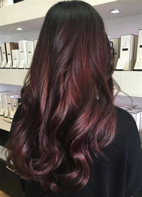 mahogany hair ideas  pinterest dark burgundy