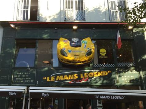 restaurant le bureau le mans devanture du restaurant picture of le mans legend cafe