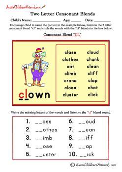 letter blends aussie childcare network