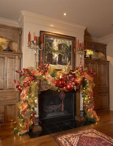 christmas decor for mantels 19 mantel christmas decorating ideas to make your home more festive this holiday