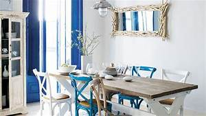 cuisine style bord de mer cuisine blanc style campagne With nice meubles blancs style bord de mer 9 deco ethnique bleu