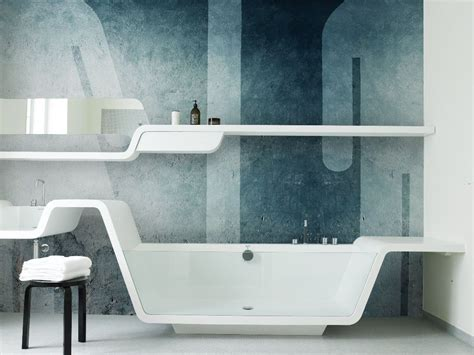 Stunning Bathroom Wallpaper Design Ideas