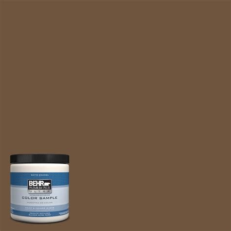 behr premium plus ultra 8 oz ppu4 20 ancient root