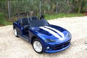 Dodge Viper Golf Cart