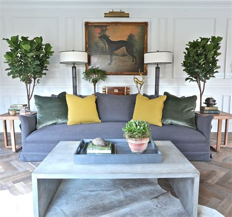 terracotta sofa living room fiddle leaf fig living room farmhouse with chesterfield