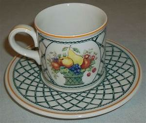 Villeroy And Boch : villeroy and boch basket espresso cup and saucer ebay ~ A.2002-acura-tl-radio.info Haus und Dekorationen