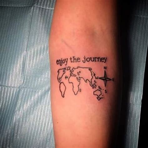 attractive travel inspired tattoos designs  flaunt