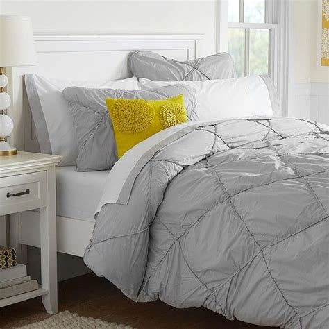 25 ideas about gray bedding on classic