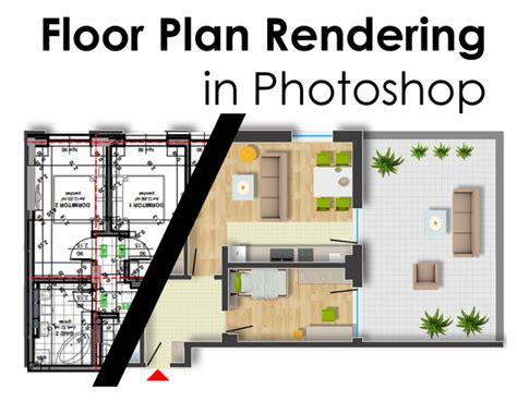 floor plan rendering  photoshop arch studentcom