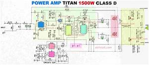Power Amplifier 1500w Class D Ir2110 Cd4049