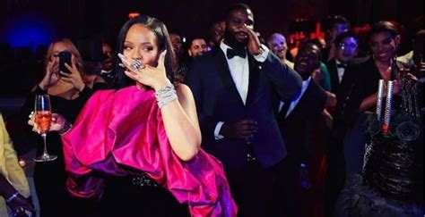 Rihanna Celebrated Her 30th Birthday In An Epic Saint
