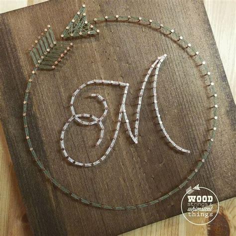 string art letters ideas  pinterest string