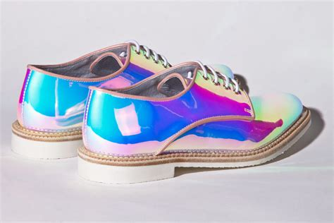 Miista Shoes Zoe In Holographic Opal