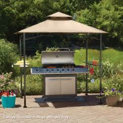 grill gazebo walmart mainstays grill shelter replacement canopy garden winds