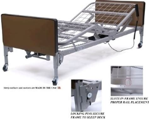 patriot electric bed only lumex brand