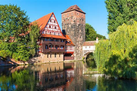 nuremberg bavaria germany hangmans bridge henkersteg