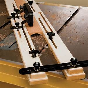 Cove Cutting Table Saw Jig Rockler Woodworking and Hardware
