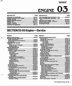 Ford 4 6l Sohc  2v   U0026 3 8l Ohv Engine Service Manual