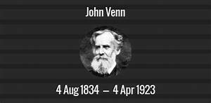 John Venn Death Anniversary