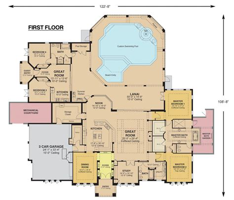colored floor plans colored floor plan kemp3d
