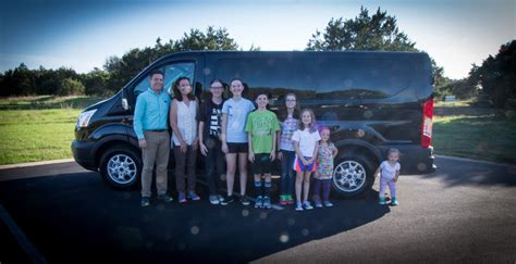 Best Family Vans 2017 Ford Transit Review Large Family Edition Marshall