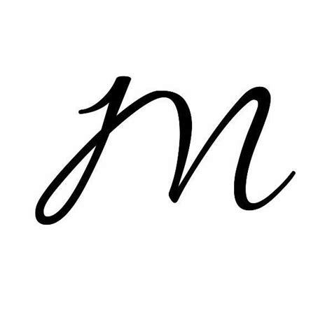 cursive m dr