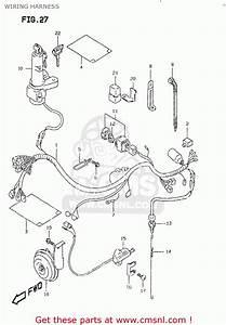 Suzuki Dr350 Se 1997-1999  Usa  Wiring Harness