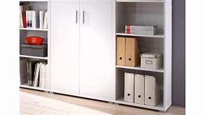 Regalwand Mit Türen : regalwand office line biz regal schrank b ro in wei dekor ~ Michelbontemps.com Haus und Dekorationen