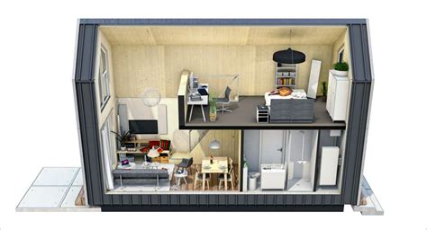 Trend Minihäuser: Stilvoll Wohnen Auf Kleinstem Raum