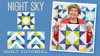 Quilt Missouri Star Sky Night Jenny Doan