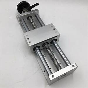 Linear Guide C7 Manual Sliding Table Cross Slide Sfu1605