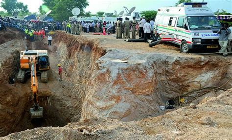 Telangana: 4-year-old girl trapped in borewell, dies