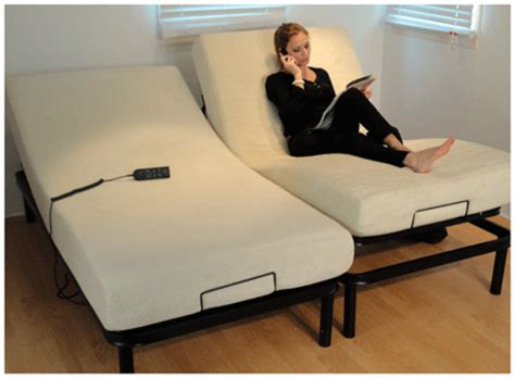 the primo electric bed comes with a standard memory foam