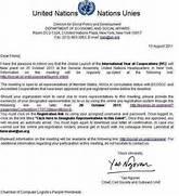Education Charter International Info Sample Essay United Nations Generalassemblyunited A Formal Apology Letter ExampleLetter Of Apology Business Sample Cover Letter United Nations EBook Database