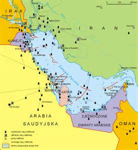 Map Of Persian Gulf - Viewing Gallery
