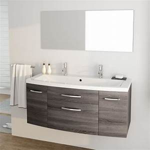 pacome ensemble meubles de salle de bain simple vasque With meuble salle de bain simple vasque 120