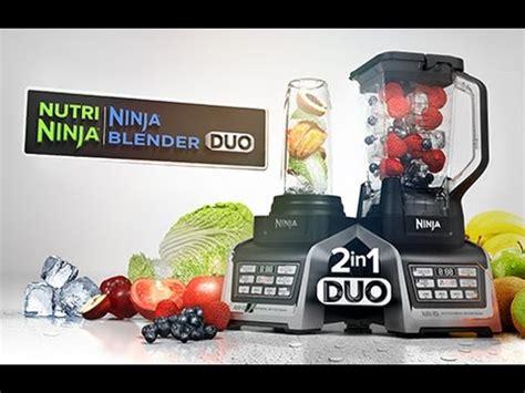 nutri ninja blender duo  auto iq technology youtube