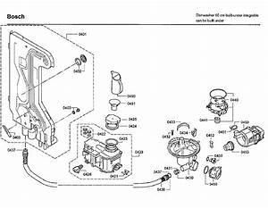 Bosch Model Shx7er55uc  50 Dishwasher Genuine Parts