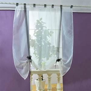 Modern roman liftable blinds sheer voile kitchen bathroom for Modern balcony curtains