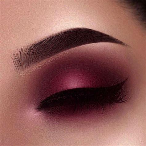 top  ideas  maroon makeup  pinterest neutral